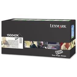 Lexmark Toner Cartridge Return Program High Yield for C752 Black Ref 15G042K