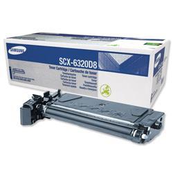 Samsung Fax Toner Cartridge Page Life 8000pp Black Ref SCX6320D8/ELS