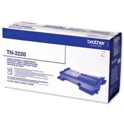Brother TN-2220 Black Laser Toner Cartridge for HL22 Series Ref TN2220