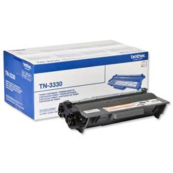 Brother Laser Toner Cartridge Page Life 3000pp Black Ref TN3330