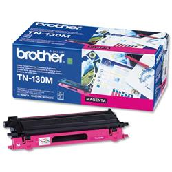 Brother TN130M Magenta Laser Toner Cartridge Ref TN-130M
