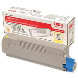 OKI Yellow Laser Toner Cartridge for C5600/C5700 Ref 43381905