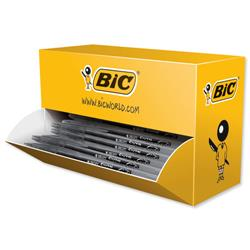 Bic Cristal V2 Rollerball Pen Gel Ink 0.7mm Tip 0.5mm Line Black Ref 896036 [Pack 35 + 5 FREE]