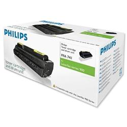 Philips Laser Toner Cartridge and Drum Unit Page Life 5000pp Black Ref PFA741