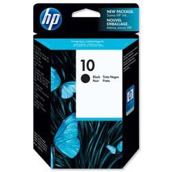 Hewlett Packard HP No. 10 Black Inkjet Cartridge 69ml Ref C4844A