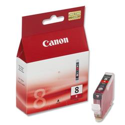 Canon CLI-8 Red Inkjet Cartridge Ref 0626B001
