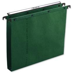 Elba AZV Ultimate A20 Suspension File Manilla 30mm Foolscap Green Ref 100330319 [Pack 25]