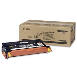 Xerox Laser Toner Cartridge High Yield Page Life 6000pp Yellow Ref 113R00725