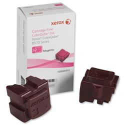 Xerox Ink Sticks Solid Page Life 4400pp Magenta Ref 108R00932 - Pack 2
