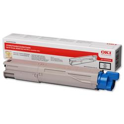 OKI 43459436 1.5K Black Microfine Laser Toner for C3450/C3600/C3300n/C3400n Ref 43459436