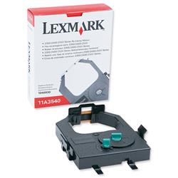 Lexmark 11A3540 Black Fabric Nylon Ribbon for 23XX/24XX Ref 11A3540