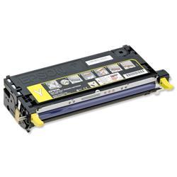 Epson S051124 Laser Toner Cartridge Page Life 9000pp Yellow Ref C13S051124
