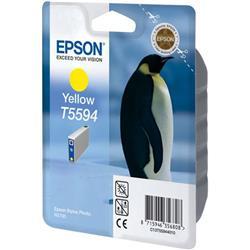 Epson T559 Yellow Inkjet Cartridge (Penguin) for Stylus Photo RX700 Ref C13T559440