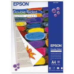 Epson A4 Double-Sided Heavyweight Matte Paper Ref C13S041569 - 50 Sheets
