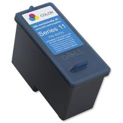 Dell No. KX703 Inkjet Cartridge Standard Capacity Colour Ref 592-10279