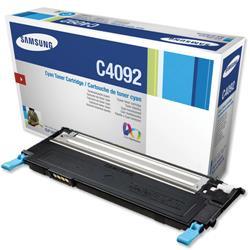 Samsung CLT-C4092S Cyan Laser Toner Cartridge for CLP-315/CLP-3175 Series Ref CLT-C4092S/ELS