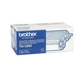 Brother TN3280 High Yield Black Laser Toner - for HL-5340D/5350DN/5370DW/5380DN Ref TN3280