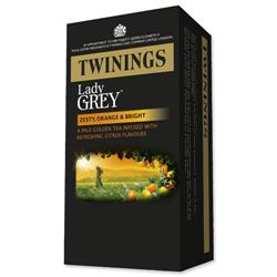 Twinings Tea Bags Lady Grey Ref 0403261 [Pack 20]