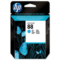 Hewlett Packard HP No. 88 Cyan Ink Cartridge 9ml Ref C9386AE