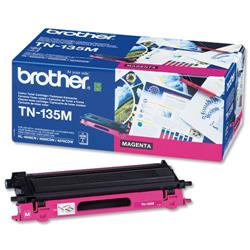 Brother TN135M Magenta Laser Toner Cartridge Ref TN-135M