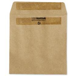 New Guardian Wage Envelopes Press Seal Manilla 108x102mm Ref L20219 - Pack 1000