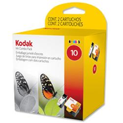 Kodak 10B & 10C Ink Combo Pack for ESP 3/5/7/9/3250/5250 Ref 3949948