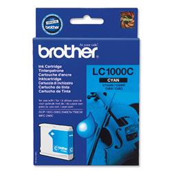 Brother LC1000C Cyan Inkjet Cartridge Ref LC-1000C