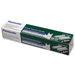 Panasonic Fax Ink Film Black Ref KXFA54X