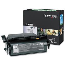 Lexmark T620/T622 10k Black Return Program Laser Toner Print Cartridge Ref 12A6860