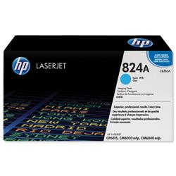 Hewlett Packard HP No. 824A Laser Drum Unit Page Life 35000pp Cyan Ref CB385A