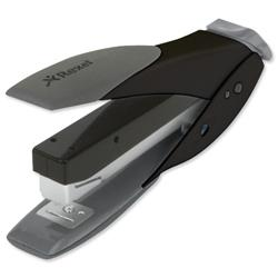 Rexel Easy Touch Half Strip Stapler Black and Grey Ref 2102548