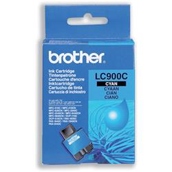 Brother LC900C Cyan Inkjet Cartridge Ref LC-900C
