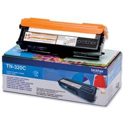 Brother TN-320C Cyan Laser Toner Cartridge Ref TN320C