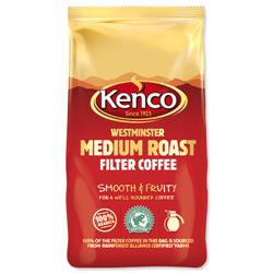 Kenco Westminster Ground Coffee for Filter Medium Roast 1Kg Ref 4032279