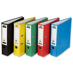 Concord Classic Lever Arch File Printed Lining Capacity 70mm A4 Assorted Ref C214070 - Pack 10