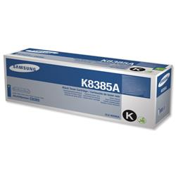 Samsung CLX-K8385A Black Laser Toner Cartridge for CLX-8385ND Ref CLX-K8385A/ELS