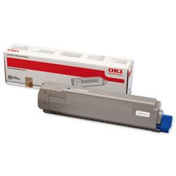 Oki Cyan Toner Cartridge for C801 / C821 Series Ref 44643003