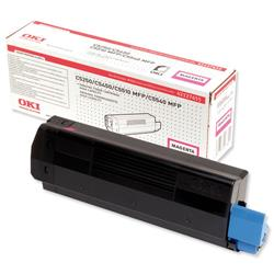 OKI Magenta Laser Toner Cartridge for C5250/5450/5510 Ref 42127455