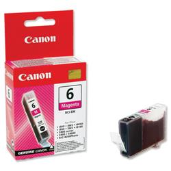 Canon BCI-6M Inkjet Cartridge Page Life 280pp Magenta Ref 4707A002