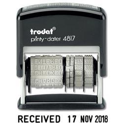 Trodat 4817 Dial-A-Word Dater Ref T4817