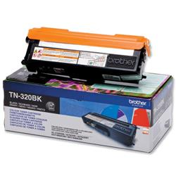 Brother TN-320BK Black Laser Toner Cartridge Ref TN320BK