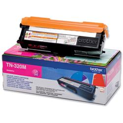 Brother TN-320M Magenta Laser Toner Cartridge Ref TN320M