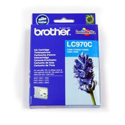 Brother LC-970C Cyan Inkjet Cartridge Ref LC970C