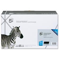 5 Star Office Compatible Laser Toner Cartridge Page Life 7000pp Black [HP No. 53X Q7553X Alternative]