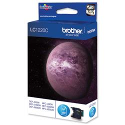 Brother LC-1220C Cyan Inkjet Cartridge Ref LC1220C
