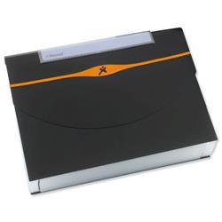 Rexel Optima Expander 13-Part Organiser File A4 Black Ref 2102483