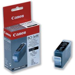 Canon BCI-3EBK Inkjet Cartridge Page Life 420pp Photo Black Ref 4479A002