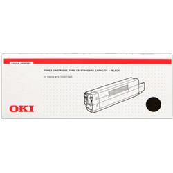 OKI Black 3k Toner Cartridge for C5200/C5400 Ref 42804508