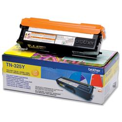 Brother TN-325Y Yellow Laser Toner Cartridge Ref TN325Y