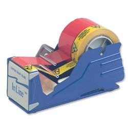 Tape Dispenser Bench Metal Heavy Duty Multicore with Guides 75mm